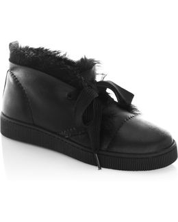 Parley Shearling-lined Suede Ankle Boots