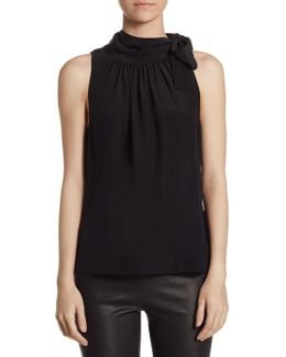 Collection Neck Tie Blouse