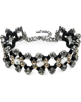 Smoke & Mirrors Crystal Choker