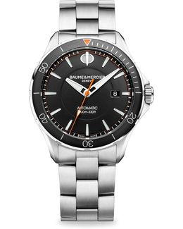 Clifton Club 10340 Stainless Steel Bracelet Watch