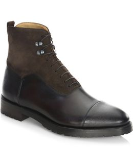Stark Parigi Leather Boots