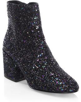 Erika Glitter Fabric Boot