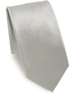 Metallic Schappe Silk Tie