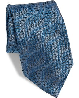Abstract Silk Tie