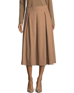 Camel Hair Skirt