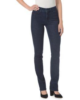 Marilyn Five-pocket Straight Denim Jeans