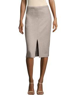 Nanna Wool Pencil Skirt