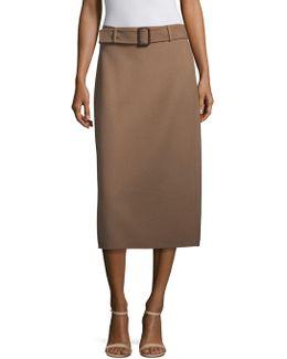 Ezor Wool Angora Skirt
