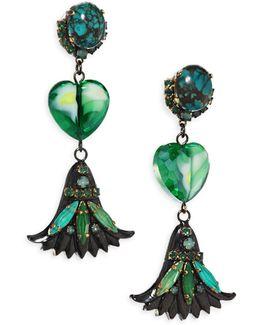 Emerald City Drop Earrings
