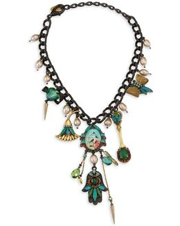 Emerald City Crystal Necklace