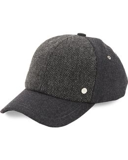 Textured Wool Baseball Hat