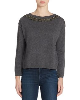 Jeweled Pullover