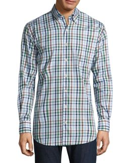 Trail Plaid Cotton Shirt