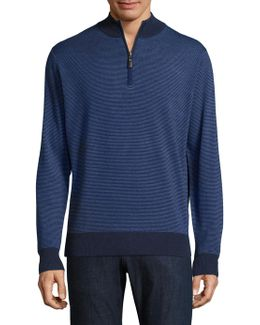 Striped Merino Wool Pullover
