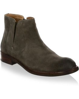 Waverly Covered Leather Chelsea Boots