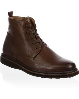 Brooklyn Leather Ankle Boots