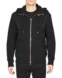 Belted Hooded Jacket