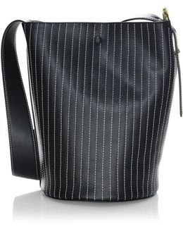 Grove Leather Bucket Bag