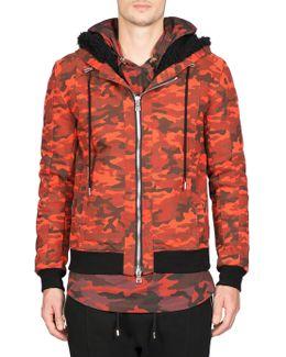 Blouson Cotton Capuche Jacket