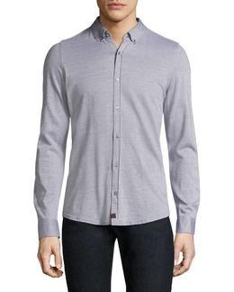 Spence-j Cotton Casual Button-down Shirt