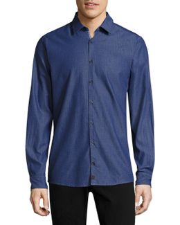 Sidney Cotton Button-down Shirt