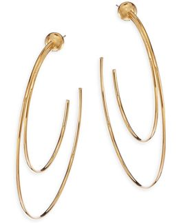 Sfera Duo Hoop Earrings/2.6