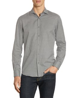 Purple Label Slim-fit Windowpane Button-down Shirt
