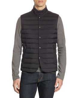 Purple Label Slim-fit Down Vest
