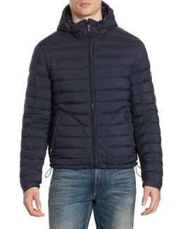 Purple Label Barton Hooded Puffer Jacket