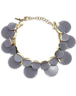 Concrete Jungle Disc Necklace