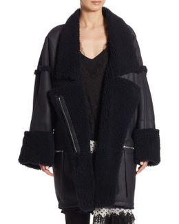 Riot Oversized Leather Jacket