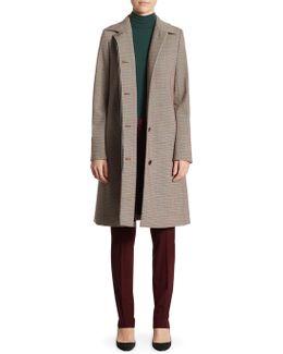 Mod Knee-length Coat
