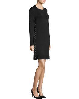 Side Seam Grommet Dress