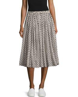 Wool Balloon Skirt