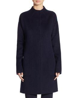 Wool & Angora Coat