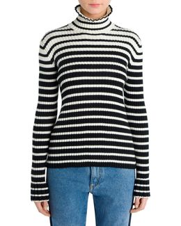 Knit Turtleneck Top