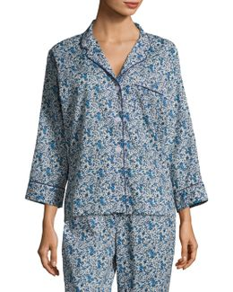 Marina Cotton Pajama Shirt