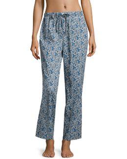 Marina Cotton Pajama Pants