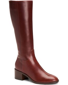 Justina Tall Leather Boots