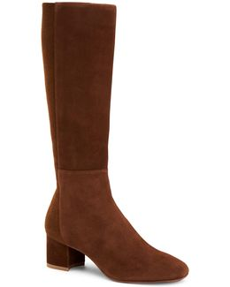 Jules Stretch-suede Boots