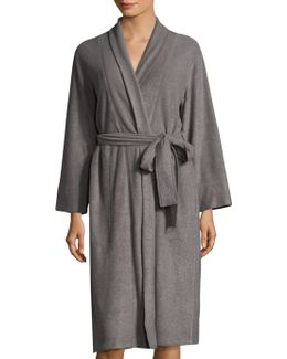 Brushed Spa Terry Robe
