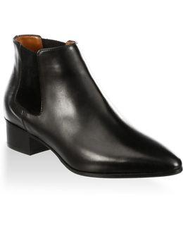 Fedorah Leather Chelsea Boots