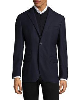 Honeycomb Wool Sportcoat