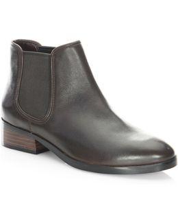 Ferri Leather Booties