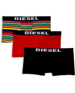 Elasticized Boxer Briefs/3-pack
