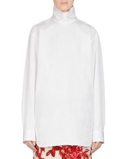 Cotton Turtleneck Shirt