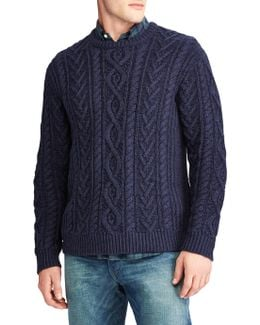 Knitted Fisherman Cotton Sweater