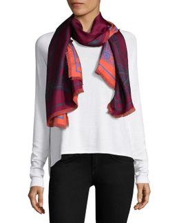 Two-sided Silk Scarf