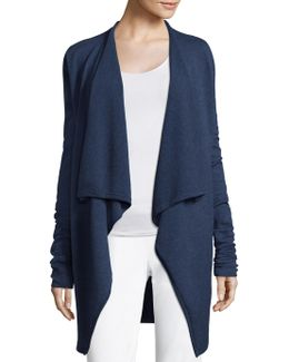 Margette Open-front Cardigan