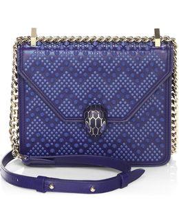 Nicholas Kirkwood X Serpenti Forever Studded Leather Chain Crossbody Bag
